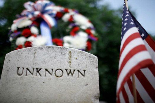 Think about the people who were found unknown. Remember