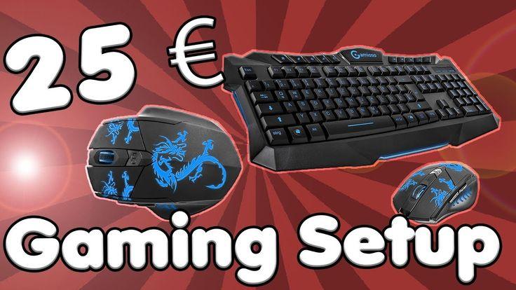 DAS 25 EURO GAMING SETUP | Gaming Tastatur und Maus Set für 25 Euro? | Review  ||  Gaming Tastatur und Maus Set für 25 Euro? Kann das was sein? Das Gaming Maus und Tastatur Setup, das ich heute für euch testen werde, kostet gerade mal 25 Eu... https://www.youtube.com/watch?a&feature=youtu.be&utm_campaign=crowdfire&utm_content=crowdfire&utm_medium=social&utm_source=pinterest&v=Gy2Nl6RkkKQ