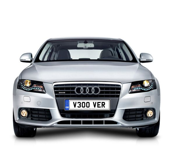 UK Private Plate registration number V300 VER