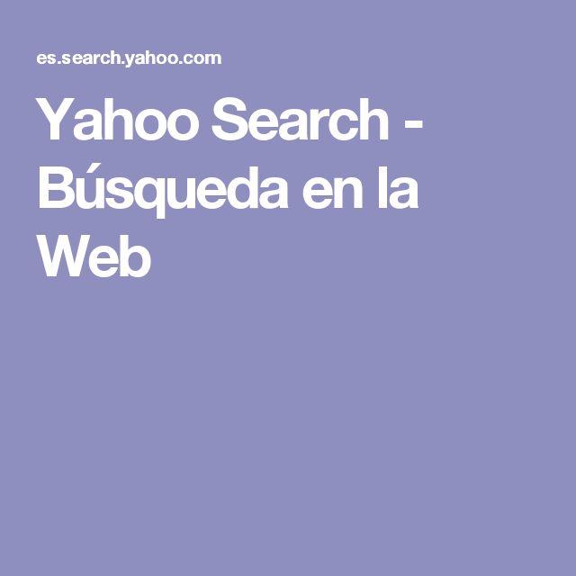 Yahoo Search - Búsqueda en la Web