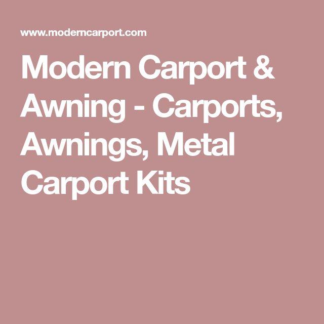 Modern Carport & Awning - Carports, Awnings, Metal Carport Kits