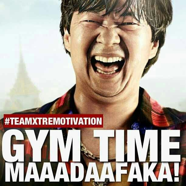 It's almost gym time @Sarah Chintomby Chintomby Chintomby Chintomby Dennis
