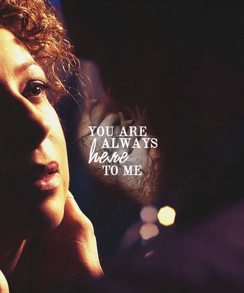 ...and I all always listen. River Song and The Doctor (Alex Kingston and Matt Smith)