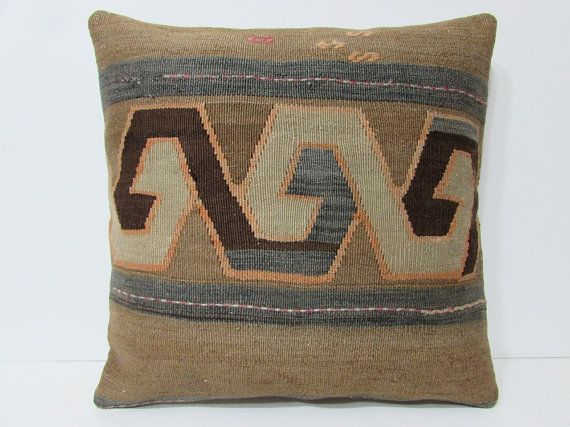 kilim pillow 24x24 euro sham pillow cover extra large pillow case big throw pillow huge decorative pillow giant floor pillow cushion 24104