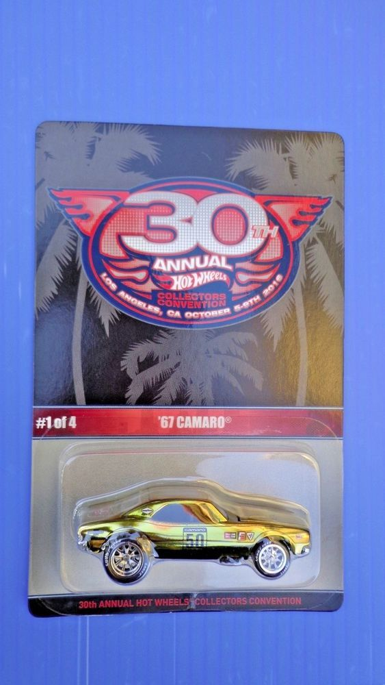 Hot Wheels 30th Annual Collectors Convention 67 Camaro .Rubber Tires #HotWheels #Camaro