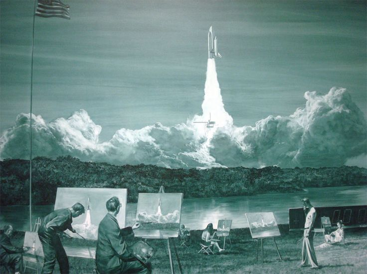 mark tansey - action-painting