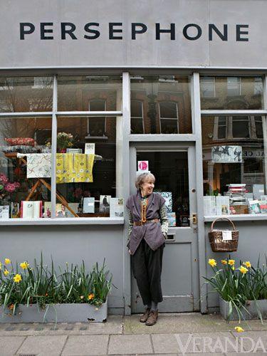 Persephone Books - a place to visit   Lamb's Conduit Street, London