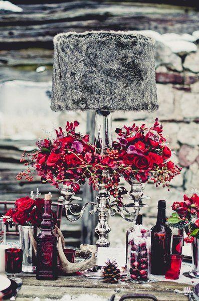 Winter Wedding Details Wedding Inspiration Boards Photos on WeddingWire