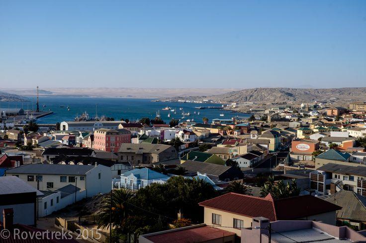 Glimpses of Namibia! Port of Luderitz.