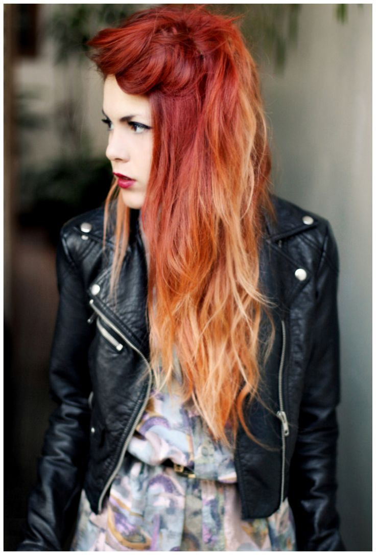 ombre hair color orange hair pinterest of 22 luxury orange