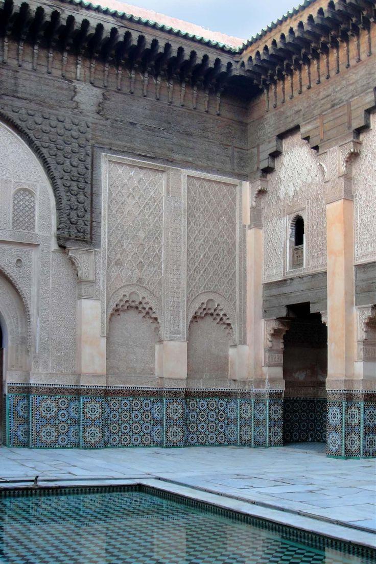 Marrakech 121118-1701 by Schoendy. Medersa Ben Youssef