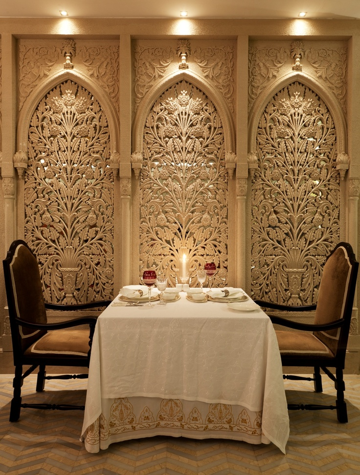 Dum Pukht at ITC Maratha, Mumbai  Dum Pukht serves not just a cuisine, but an experience that goes beyond mere satisfaction of appetite to the realm of sensuality: an evocative presentation of aromas, flavors and textures that pays tribute to an appreciation of the finer things in life to become A Grand Cuisine.