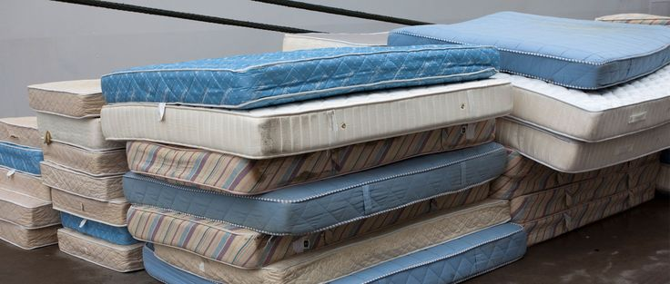 Because one old mattress can occupy 40 cubic feet or more in a landfill, mattresses are an obvious candidate for recycling. Rhode Island launches its approved recycling plan on May 1. It's operated by Bye Bye Mattress, which was established by the Mattress Recycling Council.