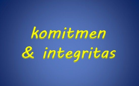 Definisi Integritas Dan Komitmen Dalam Bekerja - http://www.seputarpendidikan.com/2017/03/definisi-integritas-dan-komitmen-dalam-bekerja.html
