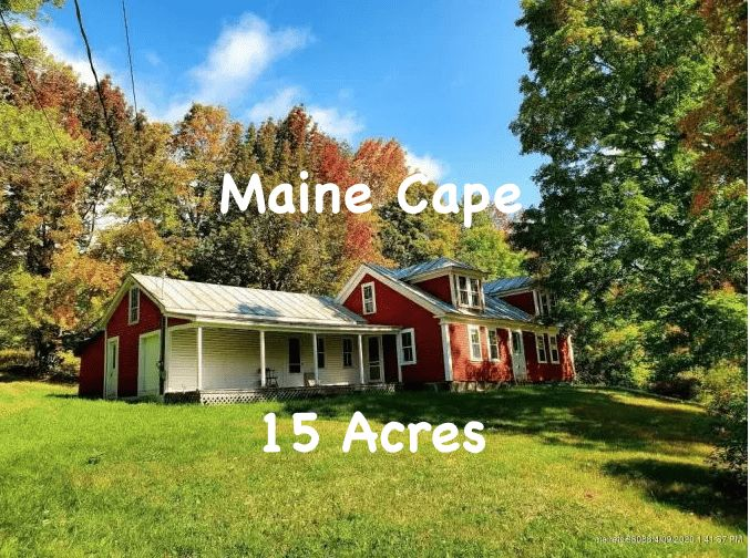 Under 100K Sunday Old Maine Fixer Upper Farmhouse For