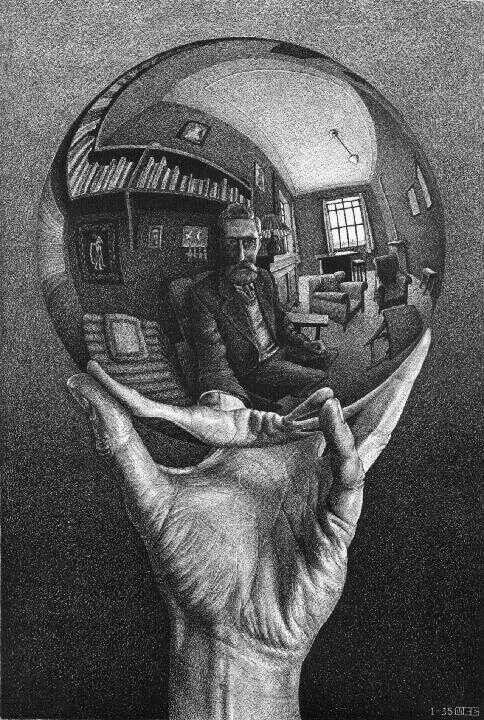 M C Escher.