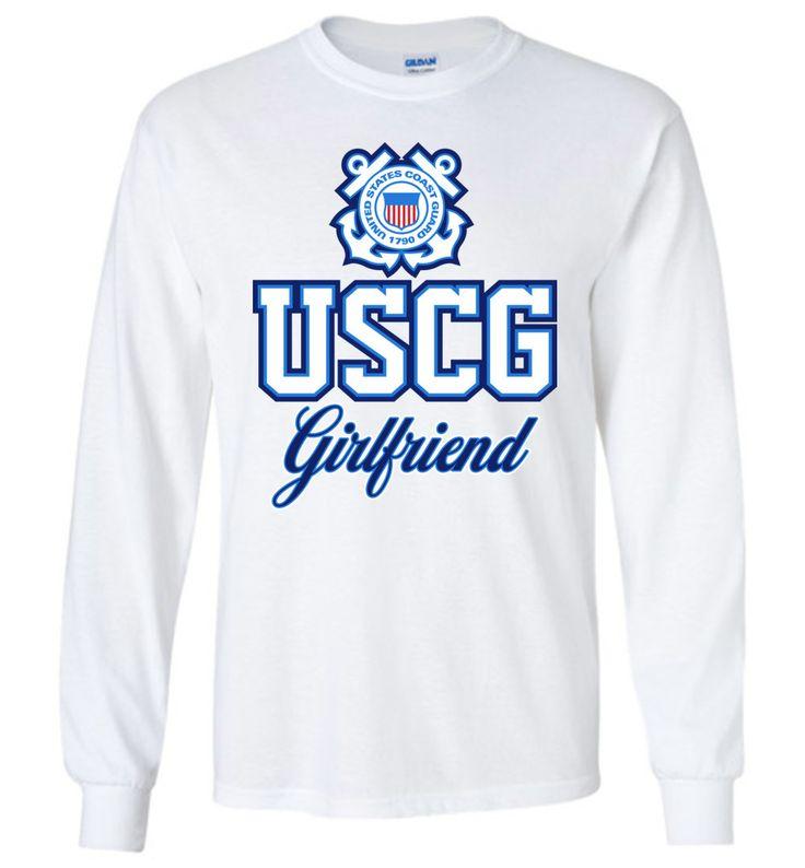 USCG Coast Guard Girlfriend Long-Sleeve T-Shirt