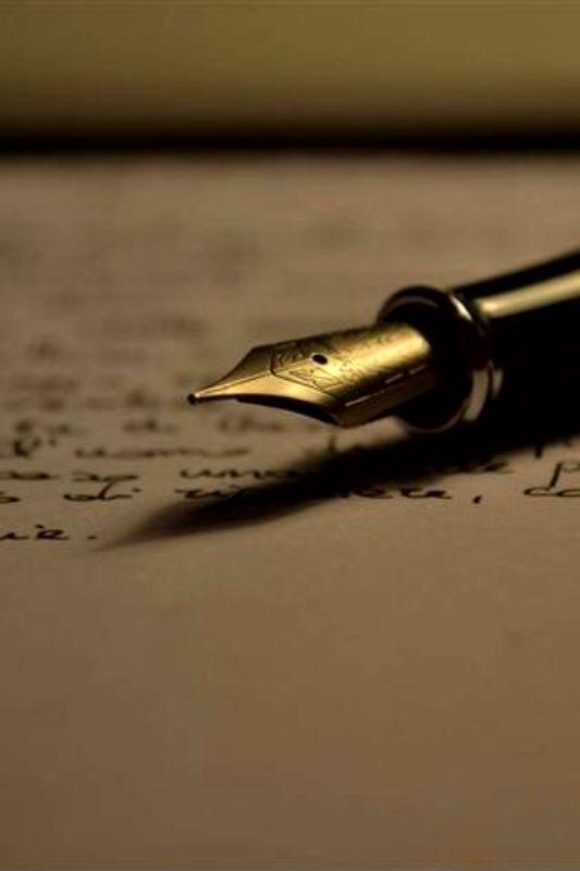adieu les sms, les emails.... et vive les lettres que l'on trace avec application en pensant à la personne qui les lira....