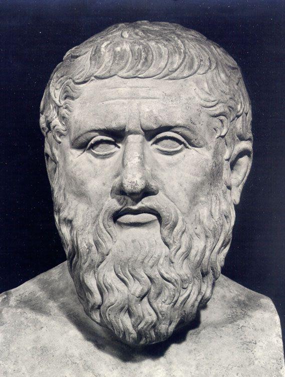 Platón (Atenas o Egina, 427-347 a. C.)fue un filósofo griego seguidor de Sócrates y maestro de Aristóteles. En 387 fundó la Academia, institución que continuaría su marcha a lo largo de más de novecientos años y a la que Aristóteles acudiría a estudiar filosofía alrededor del 367, compartiendo, de este modo, unos veinte años de amistad y trabajo con su maestro. Platón escribió, en forma de diálogo, sobre los más diversos temas, tales como filosofía política, ética, psicología,...