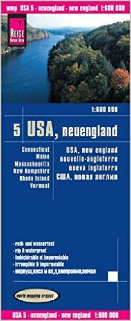 USA, New England by Reise Know-How Verlag