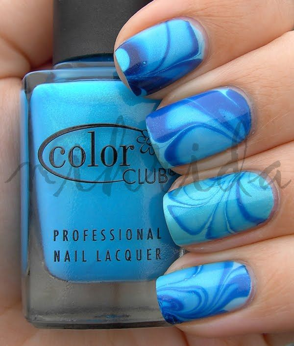 Best 25 Water Marble Nails Ideas On Pinterest Water