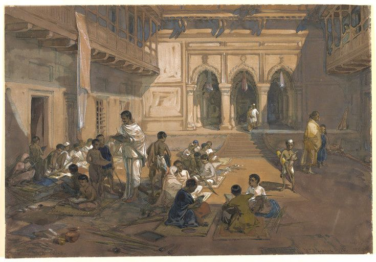 Indian School Calcutta | William Simpson | V&A Search the Collections