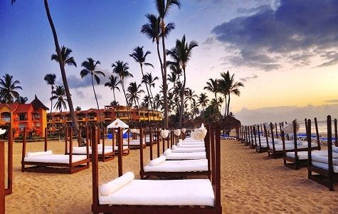 Punta Cana concentra la mayoría de los resorts que hay en el país, además del Aeropuerto con el mayor tráfico de pasajeros