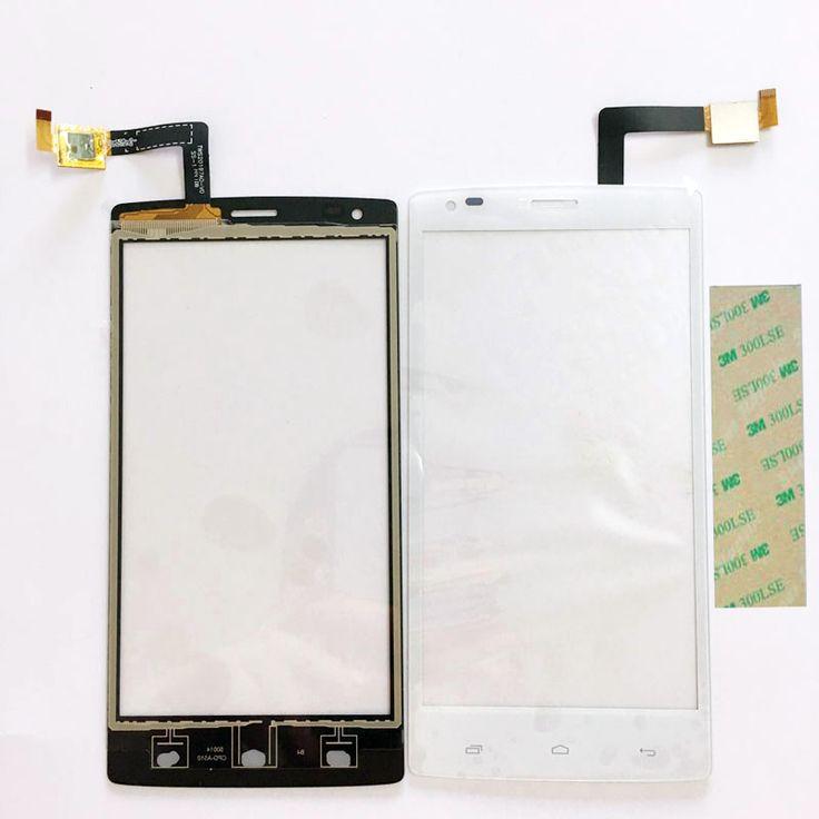 Esuwo new black touchscreen für fly iq4505 era leben 7 capactive großhandel touchscreen mit digitizer frontscheibe