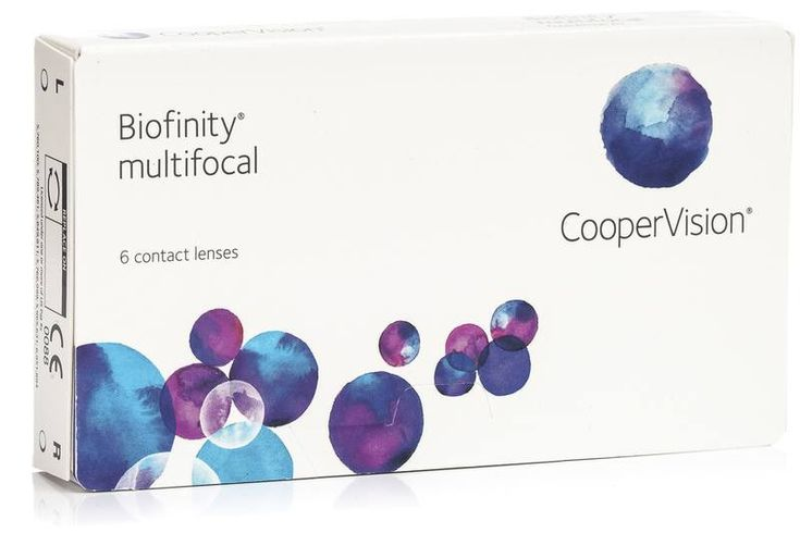 Biofinity Multifocal CooperVision (6 lentile)