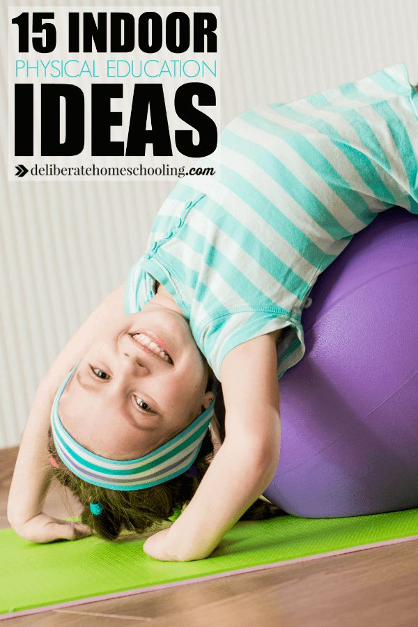 Looking for homeschool physical education ideas? Look no further! Here are 15 easy and fun indoor physical education ideas you can try at home!