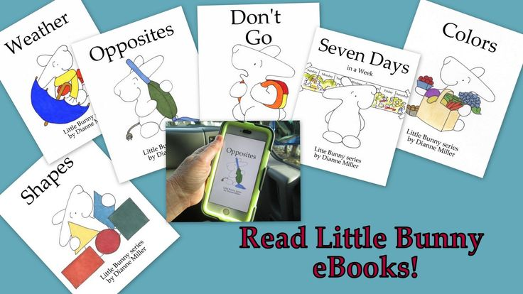 Have fun and learn preschool concepts with Little Bunny eBooks and FREE printables at littlebunnyseries wordpress com