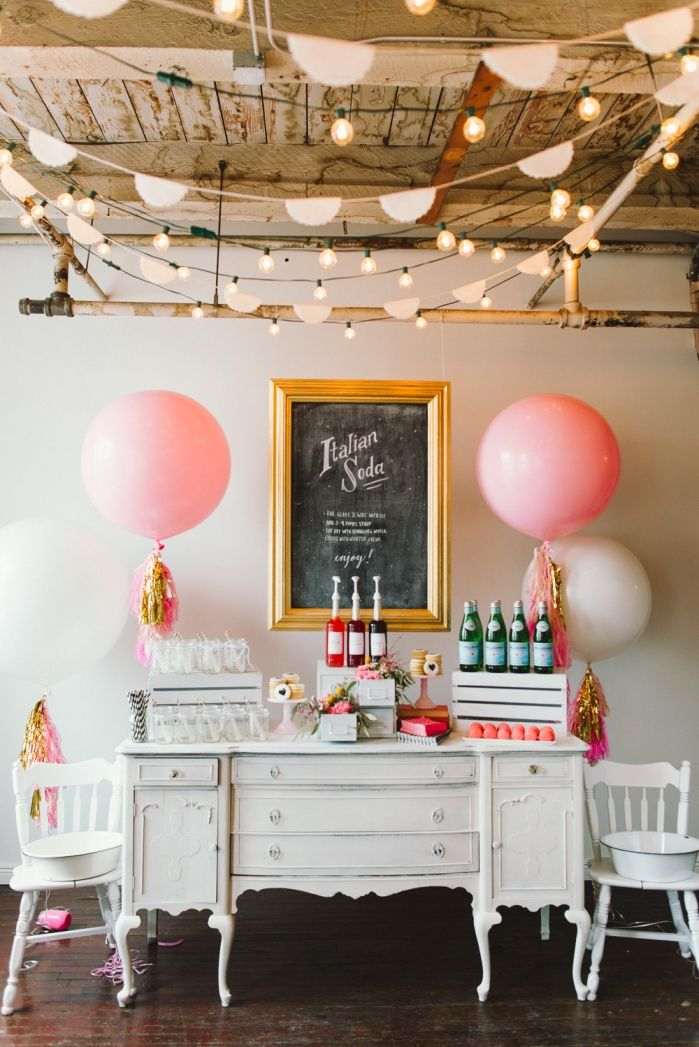 BE CRAFTY workshop Valentines inspired Italian Soda bar featuring The Faux Martha and Lesley Zellers