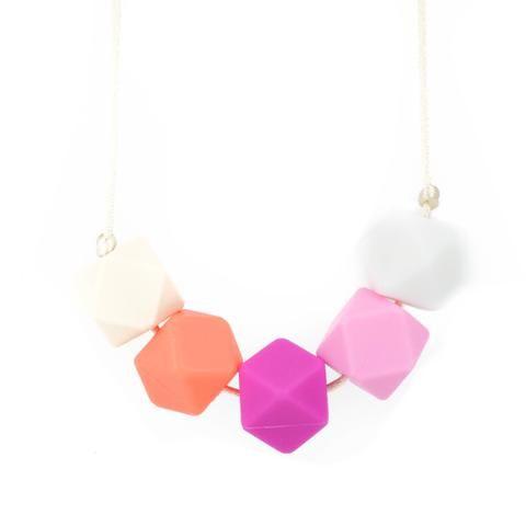 Silicone Teething Necklace - Freya - Glitter & Spice