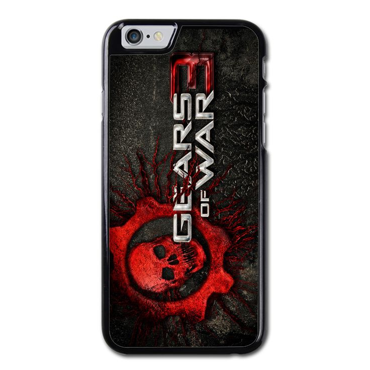 Gears of War 3 Phonecase for iPhone 6/6S Brand new.Lightweight, weigh approximately 15g.Made from hard plastic, also available for rubber materials.The case only covers the back and corners of your phone.This case is a one-piece case that covers the back and sides of the phone. There is no front for the case.This is a non-peeling nor a non-fading print. Meaning, over time it will continue to look just as amazing as it did when you first received it.