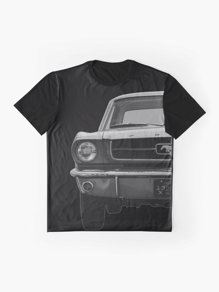 Ford Mustang T-Shirt California 1968