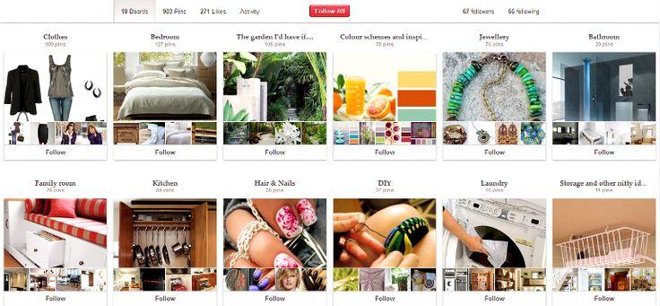 Pinterest - новый игрок на рынке соцсетей