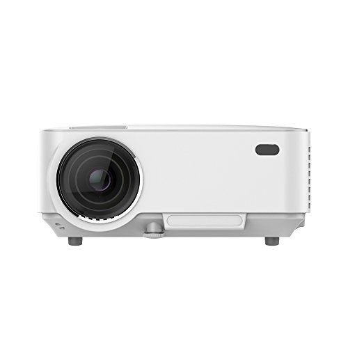 L wing lw 20 portable multimedia 1500 lumens mini led for Portable usb projector
