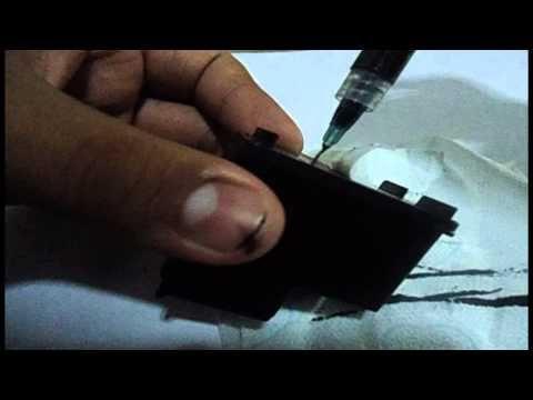 Como recargar cartucho Hp 662 negro - Español - YouTube