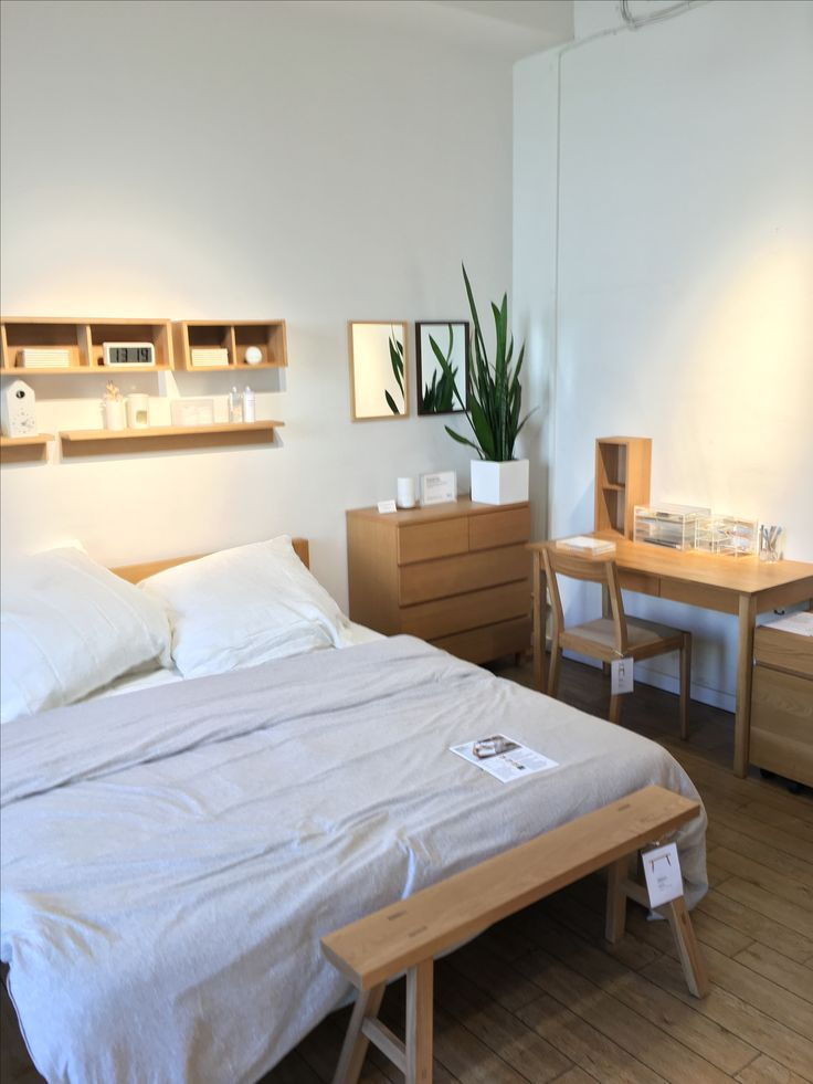 Muji bedroom                                                                                                                                                                                 More