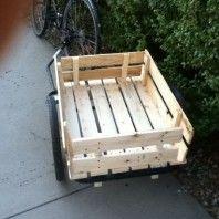 Pallet Bike trailer