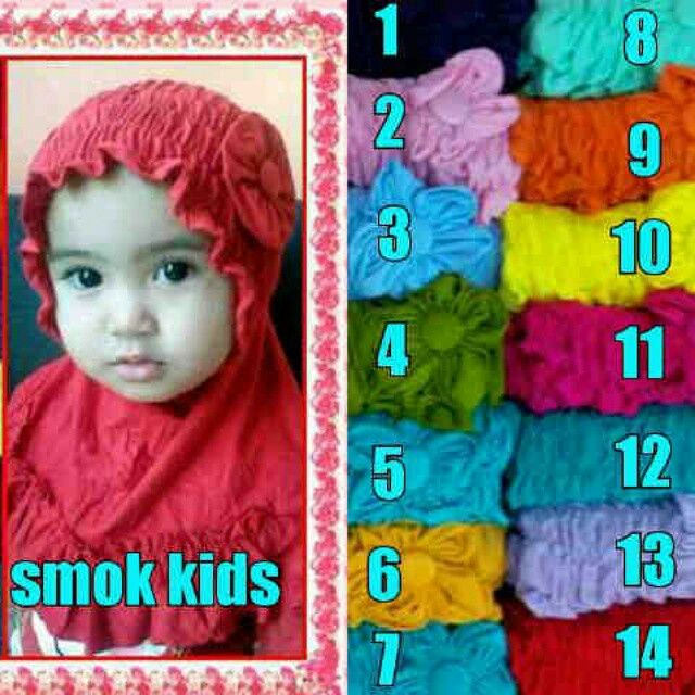 Smoke baby size 2-5 years old idr. 40 min 3 pcs @ idr. 35. Exclude shipping