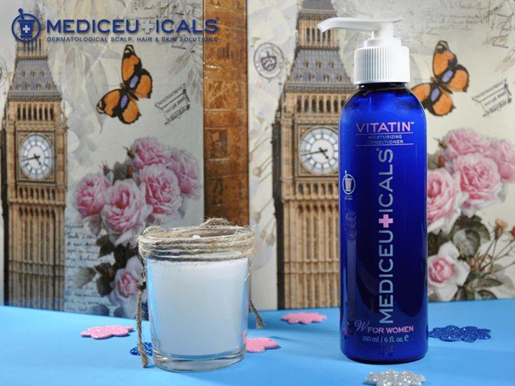 Păr uscat şi lipsit de volum? Balsamul hidratant pentru toate tipurile de păr si scalp Mediceuticals Vitatin hidratează, conferă volum şi strălucire, fără să încarce. Comandă-l de aici: https://www.pestisoruldeaur.com/Balsam-hidratant-pentru-toate-tipurile-de-par-si-scalp-Mediceuticals-Vitatin-180-ml?filter_name=vitatin