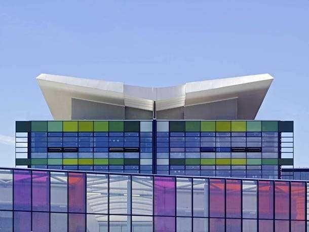 Реконструкция больницы в Ноттингемшире, Великобритания