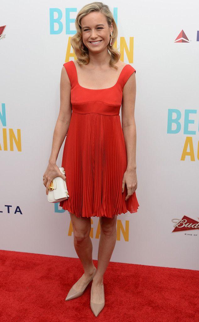 Scoop Neck Sweetheart from Brie Larson's Best Looks   E! Online