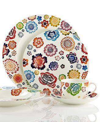 Villeroy boch dinnerware anmut bloom collection - Villeroy boch vajillas ...