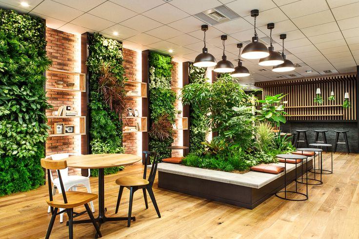 コーディネート実例 046 緑と過ごす、オフィス創り | リグナ