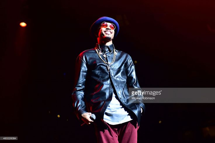 Recording artist August Alsina performs as part of Usher's URX Tour at Philips Arena on December 9, 2014 in Atlanta, Georgia.