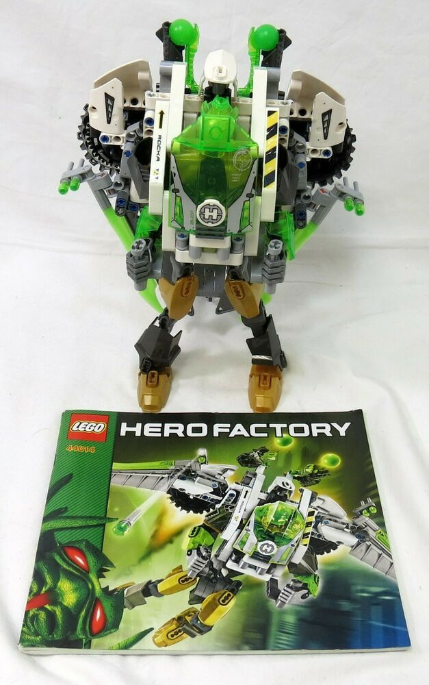 Lego Hero Factory 44014 Jet Rocka With Directions Afflink Contains