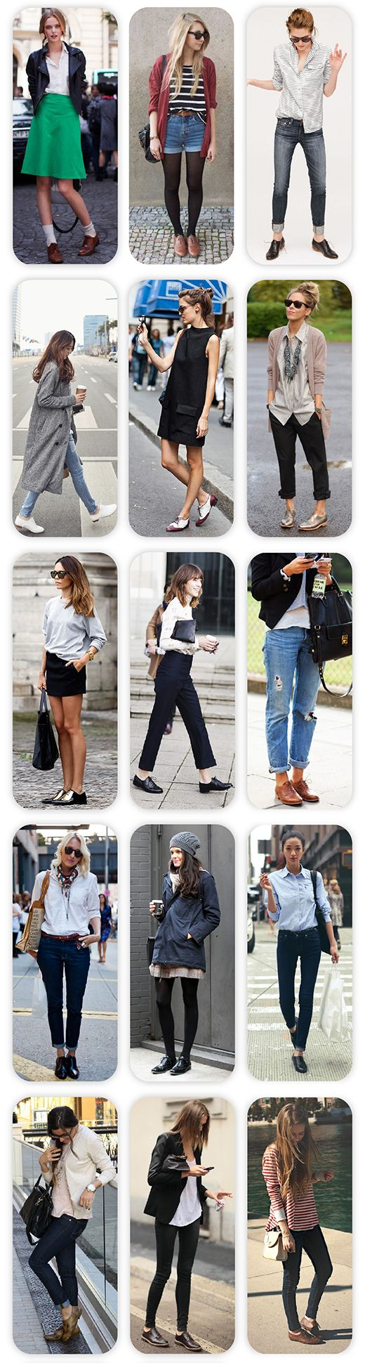 Fashion Trend: Oxford Παπούτσια / Fashion Trend: Oxford Shoes