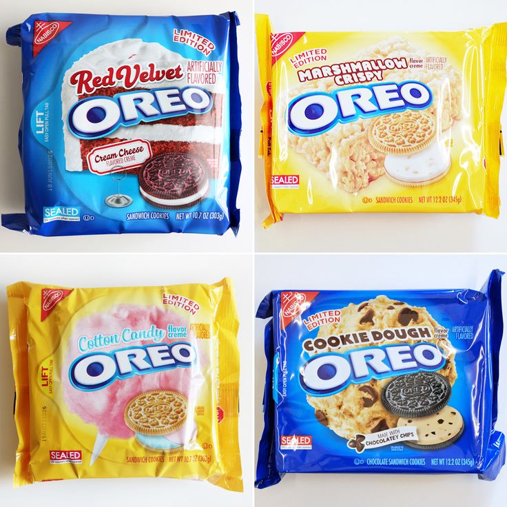 6 Limited-Edition Oreo Flavors We Wish Were Always on Shelves